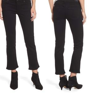 Citizens of Humanity Cropped Black Jeans